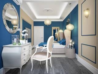 Dormitorios de estilo  por design studio by Mariya Rubleva