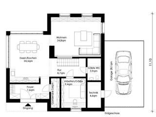 Maisons classiques par Müllers Büro Classique
