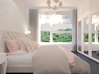 Dormitorios clásicos de living box Clásico