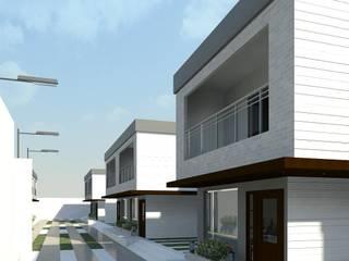Minimalistyczne domy od Diseño Store Minimalistyczny