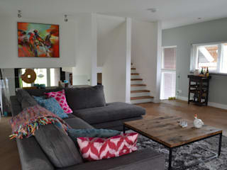 Moderne Wohnzimmer von Wood! by Vorselaars Modern