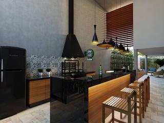 Cocinas de estilo  por canatelli arquitetura e design