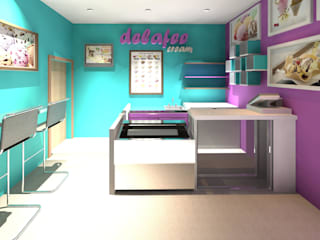 Diseño Store Office spaces & stores Multicolored