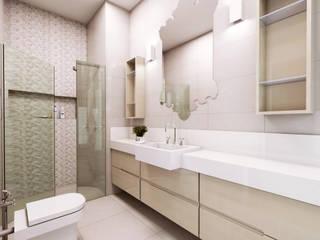 Lozí - Projeto e Obra Baños de estilo moderno