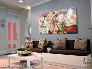 Decora tu casa con lo más importante: Tu Familia de MORAN Estudio De Arte Minimalista