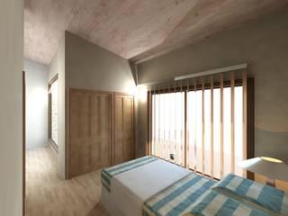 Nowoczesna sypialnia od Diseño Store Nowoczesny