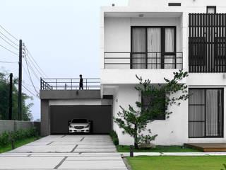夏沐森山設計整合 Casas de estilo moderno