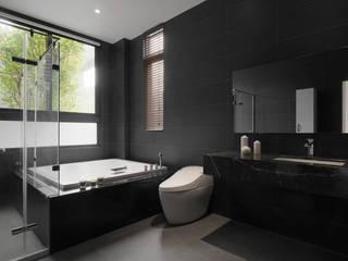夏沐森山設計整合 Modern bathroom