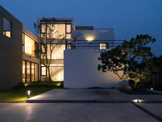 夏沐森山設計整合 Rumah Modern