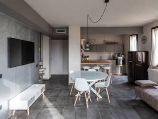 interno 2L Soggiorno moderno di km 429 architettura Moderno