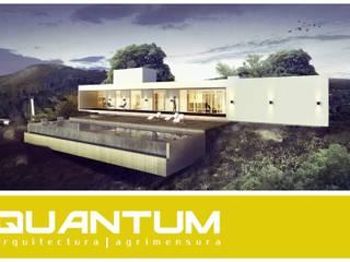 Vivienda Unifamiliar - Los Molinos: Casas de estilo minimalista por QUANTUM | Arq. Betiana Denardi