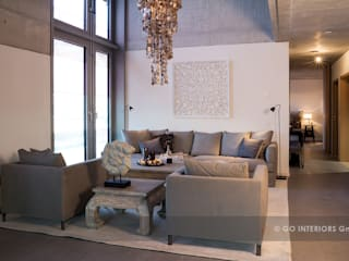 Modern living room by Go Interiors GmbH Modern