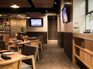 BRASADA: Restaurantes de estilo  por Segovia ARQ