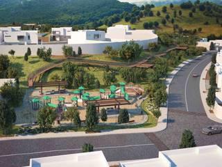 Fraccionamiento Punta Madero : Casas de estilo  por Segovia ARQ