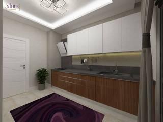Cocinas de estilo moderno de nihle iç mimarlık Moderno