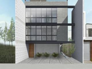 Houses by FDZ ARQUITECTOS, Modern