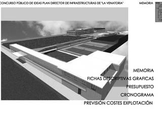 CONCURSO LA VENATORIA Casas de estilo moderno de AmasU Arquitectos Moderno