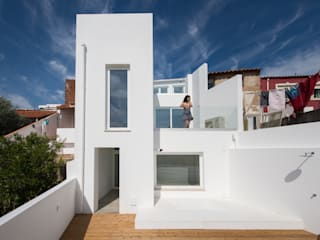 studioarte Minimalist house Bricks White