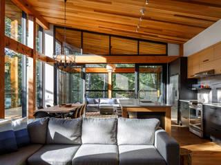 Nowoczesny salon od Flynn Architect Nowoczesny