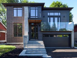 Casas de estilo  por Jane Thompson Architect,