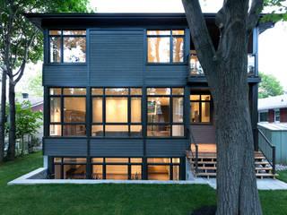 Casas de estilo  de Jane Thompson Architect,