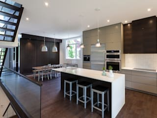 McKellar Park New Home Modern kitchen by Jane Thompson Architect Modern Quartz