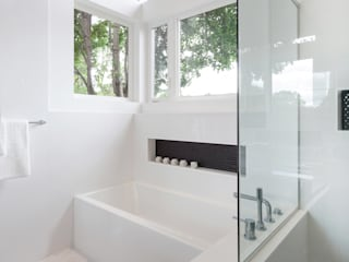 Badezimmer von Jane Thompson Architect, Modern Marmor