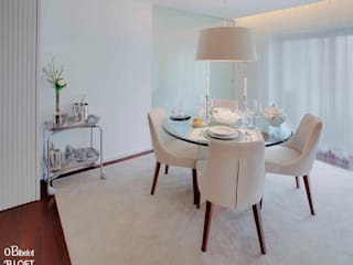 Salle à manger minimaliste par B.loft Minimaliste