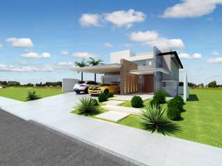 Houses by Arquiteto Tales Miranda, Modern