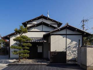 牟礼の家~土間テラスのある家~ オリジナルな 家 の 傳寶慶子建築研究所 オリジナル