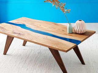 Resin river coffe table:   by Frances Bradley