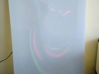 FG Plastech Industrial Plastic Sheets  – illuminated Acrylic Door / Işıklandırılmış Akrilik Yüzeyli Kapı: modern tarz , Modern