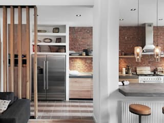 Bloot Architecture Modern kitchen Stone
