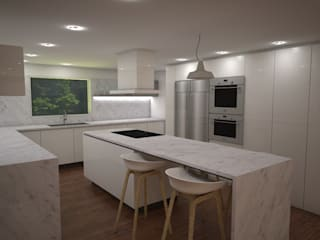 Modern kitchen by Proyectos JARQ Modern