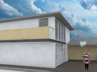 Casa MIAMI - HT Casas modernas: Ideas, imágenes y decoración de Proyectos JARQ Moderno