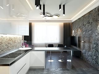 Modern kitchen by rudakova.ru Modern