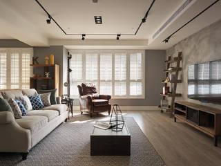 陶璽空間設計 Mediterranean style living room