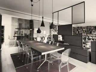 Salle à manger de style  par andrea borri architetti, Moderne