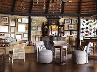 Game Lodge Revisited by David Strauss Interiors Country