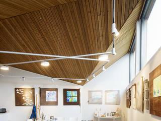 Interieur: Poolhouse / Atelier :  Studeerkamer/kantoor door [delacourt][vanbeek]