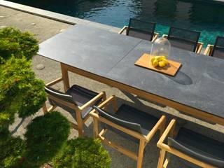 Table extensible TEKURA :  de style  par Les Jardins