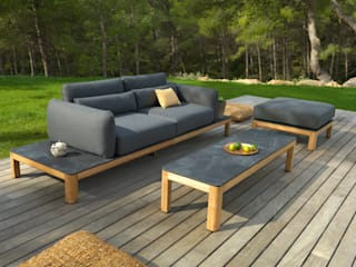 Canapé TEKURA:  de style  par Les Jardins