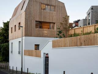 moderne Häuser von agnès&agnès architecture