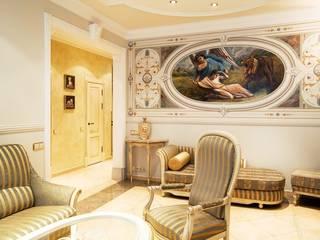 Изысканная классика: Гостиная в . Автор – LEO Company