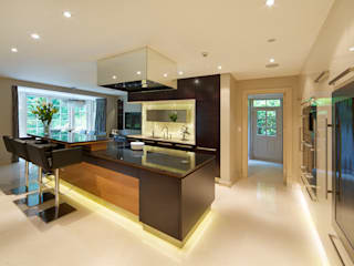 Hadley Wood Refurb 모던스타일 주방 by The Wood Works 모던
