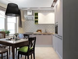 ДизайнМастер Eclectic style kitchen Grey