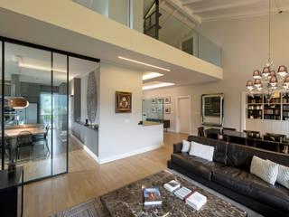 Modern Living Room by Vemworks llc Modern
