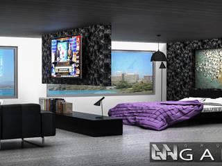 Habitación Principal: Cuartos de estilo  por Grupo GANA, C.A.