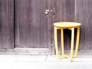 丸テーブル: 工房 まつしたが手掛けた折衷的なです。,オリジナル
