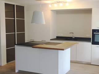 Rénovation d'une cuisine et salle de bain d'appartement Cuisine moderne par AMNIOS Moderne